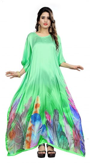 Satin Silk Caftan