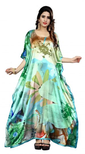 Satin Silk Kaftan