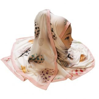 Stretchable Printed Scarf