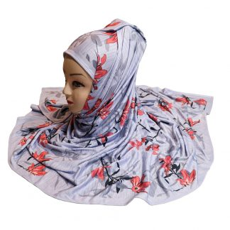 Floral Printed Stoles Hijab