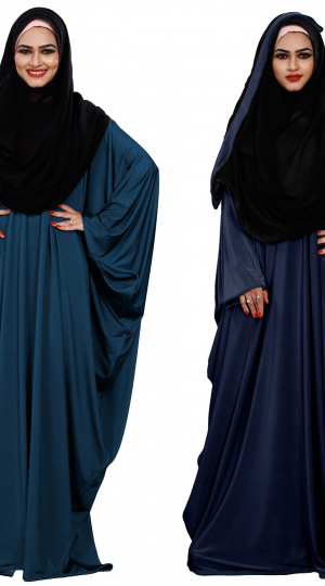 2 Way Wearable Abaya