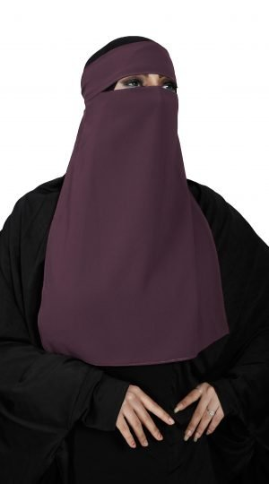Single Layer Niqab