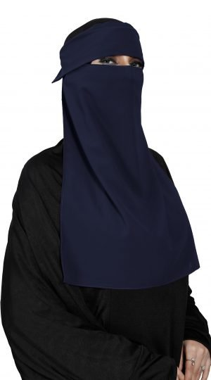 Single Layer Cap Niqab
