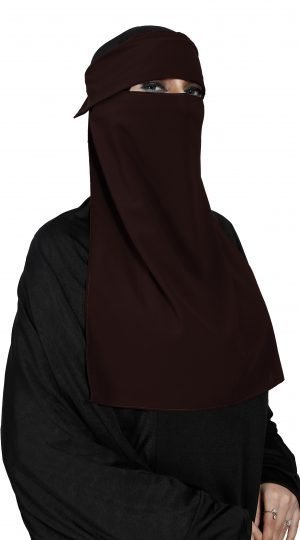 Cap Single Layer Niqab