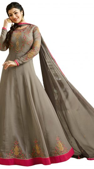 Resham Embroidery Dress