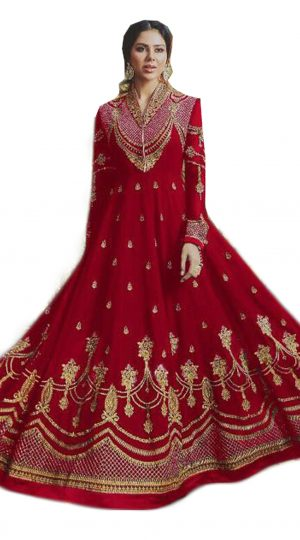 Zari Embroidery Suit
